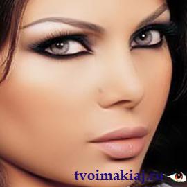 Как делать макияж для нависающих век
