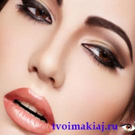 идеальный макияж глаз