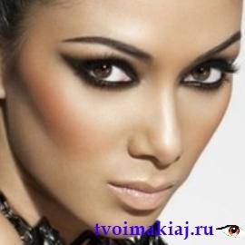 идеальный макияж для карих глаз