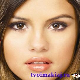 макияж глаз белым карандашом