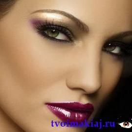 макияж для зеленых глаз идеальный