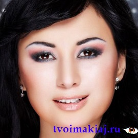 Макияж для казахских глаз