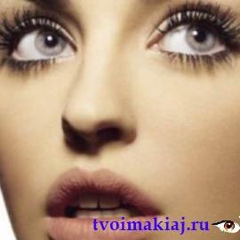 макияж увеличивающий глаз