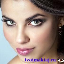 повседневный макияж глаз фото