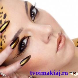 яркий макияж карандашом