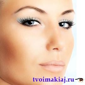 макияж для маленьких век