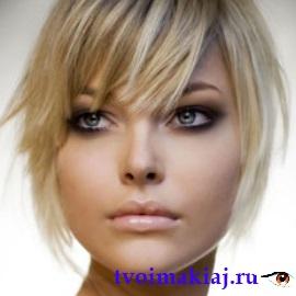 варианты макияж для серых глаз