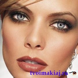 вертикальный макияж глаз фото