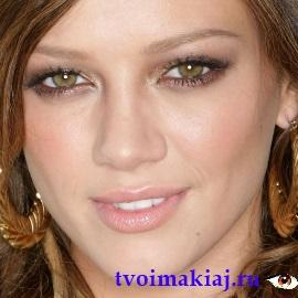 макияж для желто-зеленых глаз
