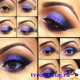 макияж для карих глаз поэтапно фото