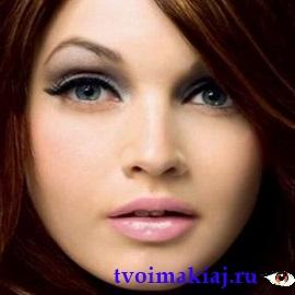 макияж для круглых глаз фото