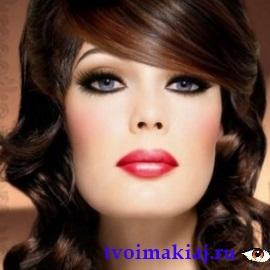 макияж для серых азиатских глаз