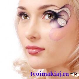 профессиональный макияж для карих глаз