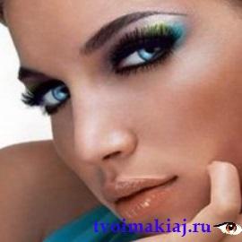 макияж для бирюзовых глаз
