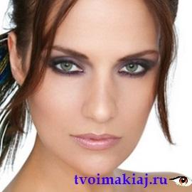 макияж для каре зеленых глаз фото