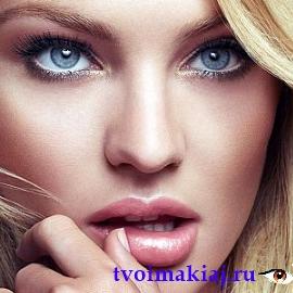 макияж для светло голубых глаз фото