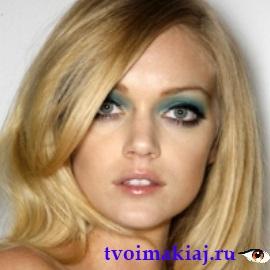 макияж для широко посаженных глаз