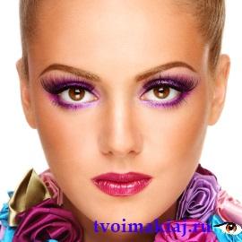 макияж для янтарных глаз фото