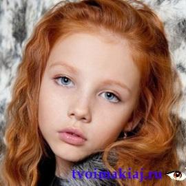 макияж для девочек 9 лет