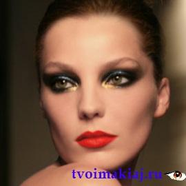 французский макияж