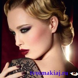 макияж под черное платье фото