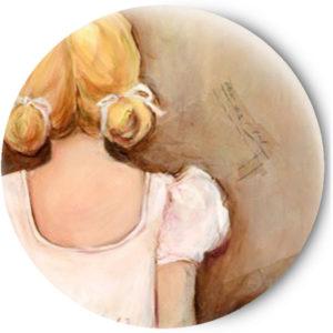 Одностороннее зеркальце Балерина