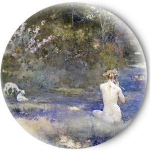 Одностороннее зеркальце Девушка