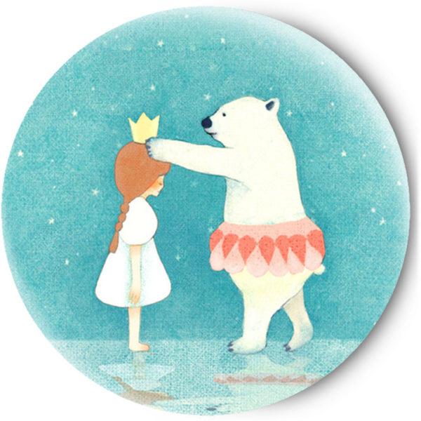 Одностороннее зеркальце Снежная Королева