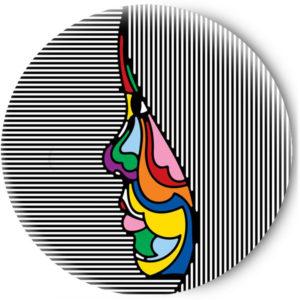 Одностороннее зеркальце Abstraction girl
