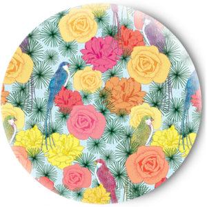 Одностороннее зеркальце Birds and flowers