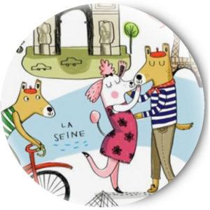 Одностороннее зеркальце French Kiss