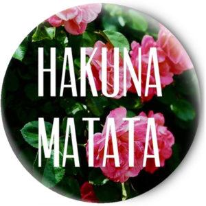 Одностороннее зеркальце Hakuna Matata