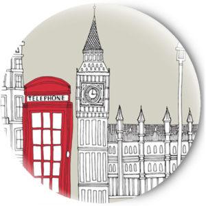 Одностороннее зеркальце London