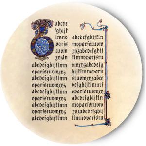 Одностороннее зеркальце Medieval