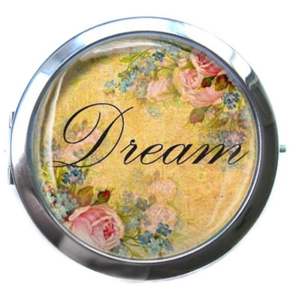 ЗЕРКАЛЬЦЕ КАРМАННОЕ «Dream»