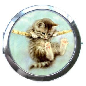 ЗЕРКАЛЬЦЕ КАРМАННОЕ «Котенок»