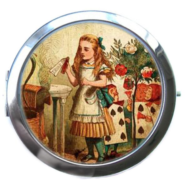 ЗЕРКАЛЬЦЕ карманное «Алиса»